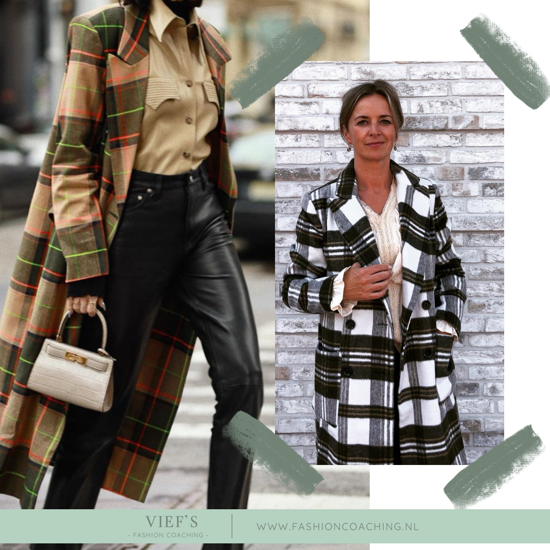 Shopping Inspiration – Checked Coat