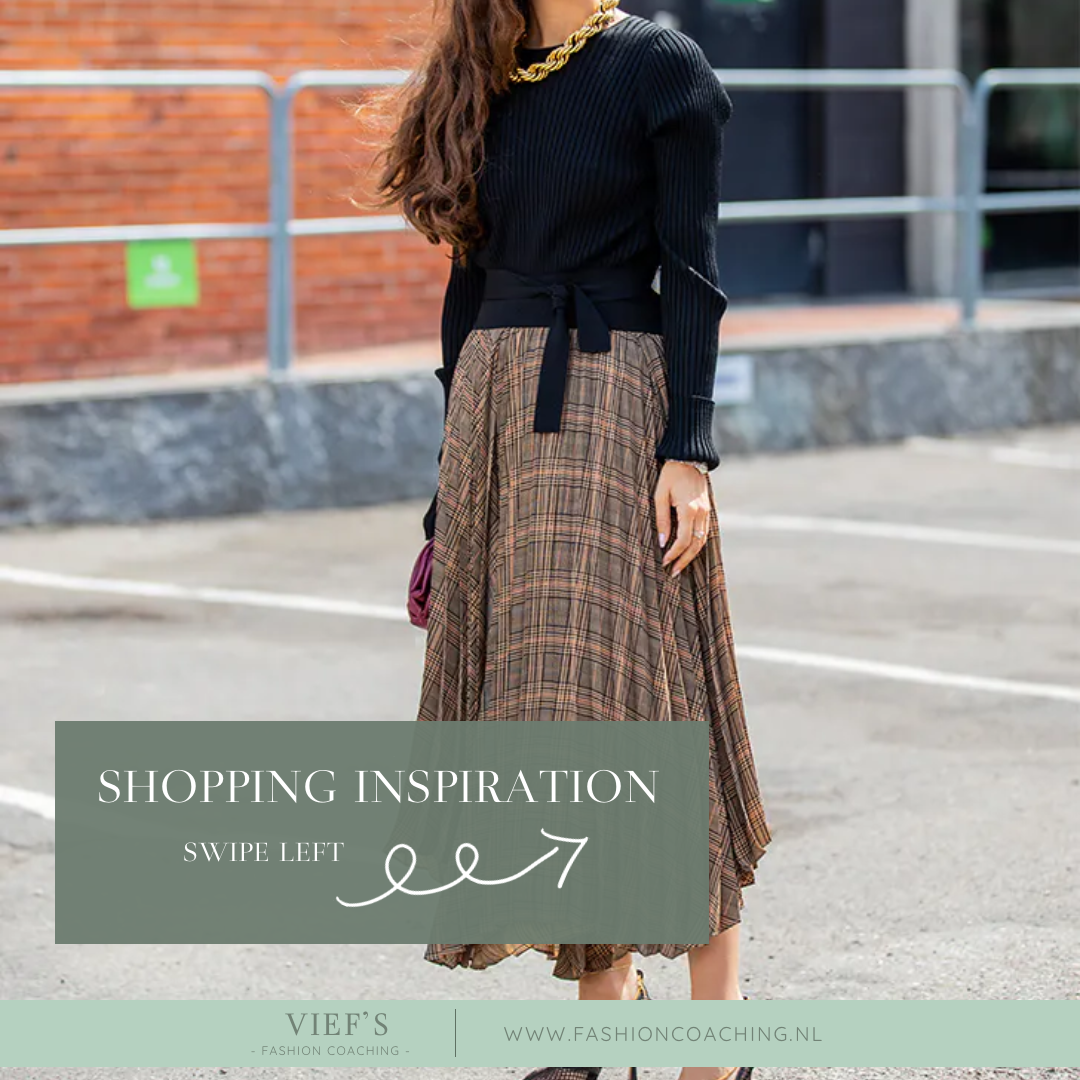Shopping Inspiration – Printed Pleated Skirt
