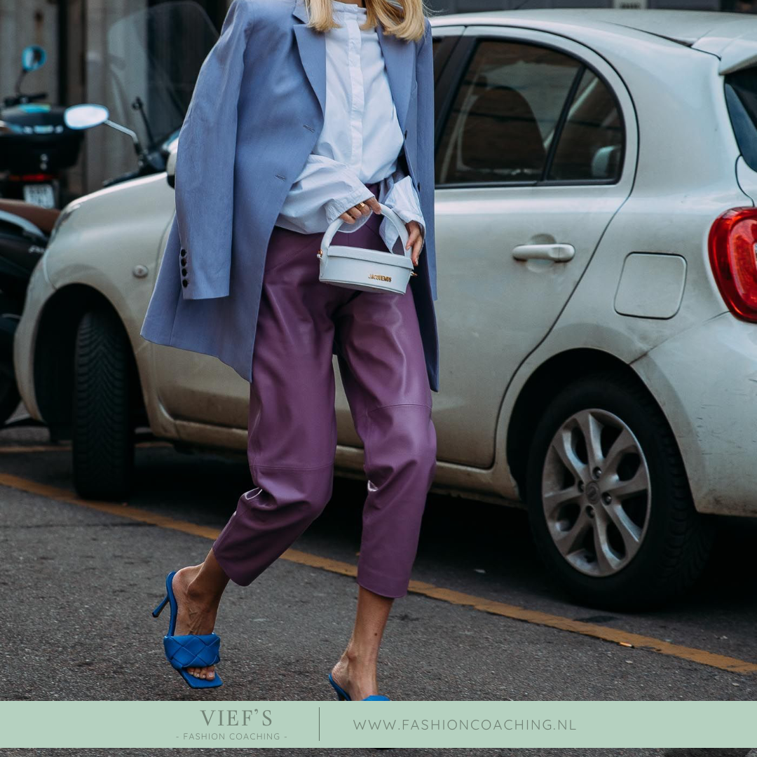 Street Inspiration – Coloured Leather
